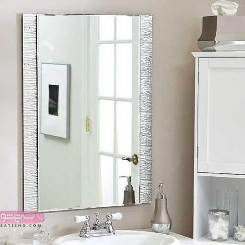 عکس مدل های جدید آینه دستشویی و سرویس بهداشتی