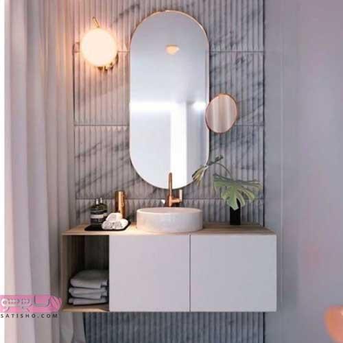 مدل آینه های دسشویی ارزان قیمت با طرح های شیک