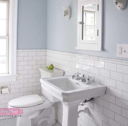 ایده برای دکوراسیون آینه دسشویی با طرح های جدید