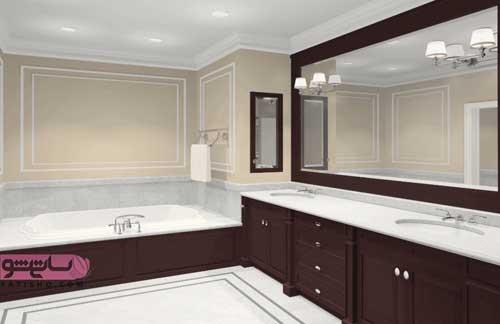 عکس آینه دستشویی جدید