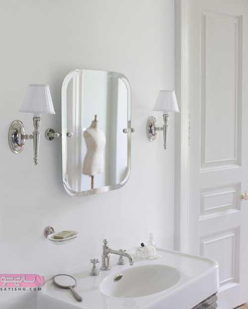 آینه کوچک برای اصلاح صورت با طرح های شیک