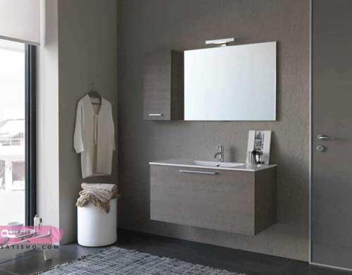 مدل های کابینت آینه دسشویی در سرویس بهداشتی
