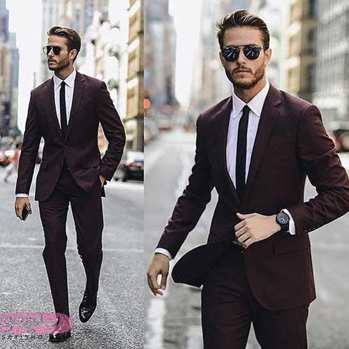 انواع مدل کت و شلوار جذاب مردانه سال 2019