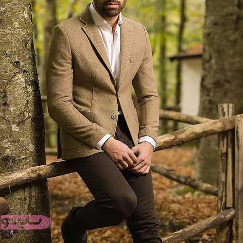 مدل کت و شلوار مردانه تیره