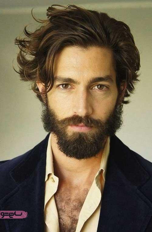 ایده برای آرایش موی نیمه بلند مردانه با طرح های شیک 2019