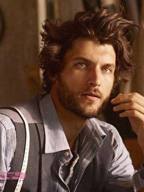 جذاب ترین مدل موی مردانه برای صورت های چاق