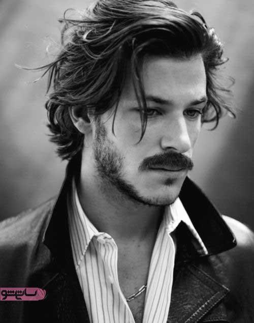 عکس موی مردانه بلند با طرح های شیک 2019