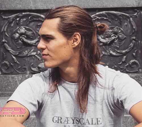 مدل موی گوجه ای بلند مردانه با طرح های جدید 2019