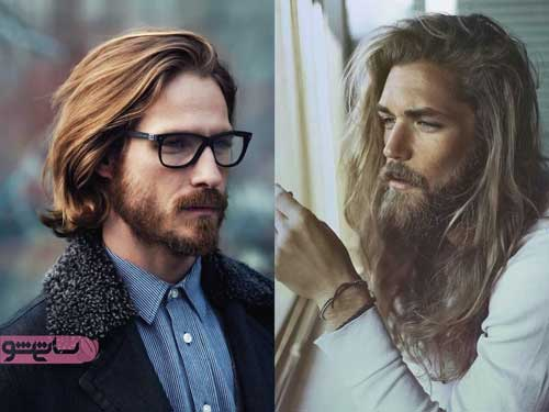مدل موی بلند مردانه باز