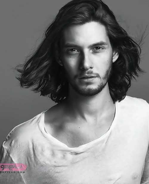 مدل مو بلند مردانه بازیگران ایرانی