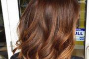 مدل رنگ موی دارچینی