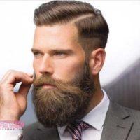 مدل ریش بلند با موی کوتاه ۲۰۱۹ | جدیدترین عکس های ریش بلند لاکچری ۹۸