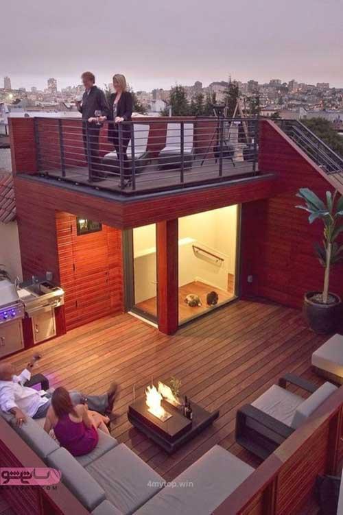 روف گاردن یا ایجاد فضای سبز بر روی پشت بام