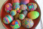 تزیین و رنگ آمیزی تخم مرغ سفره هفت سین 98