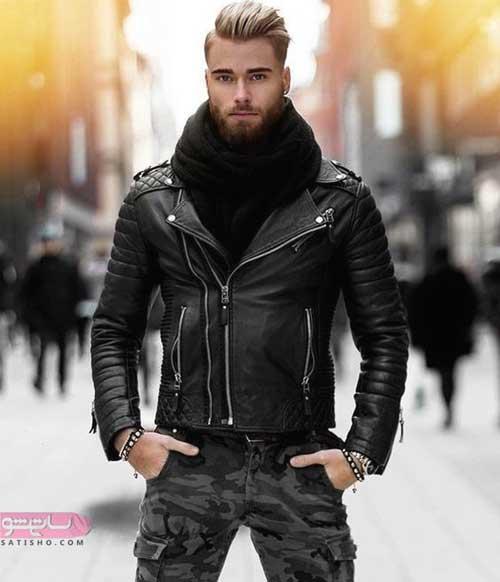 مدل کت چرم مردانه جدید 2019 برای استایل شیک زمستانه