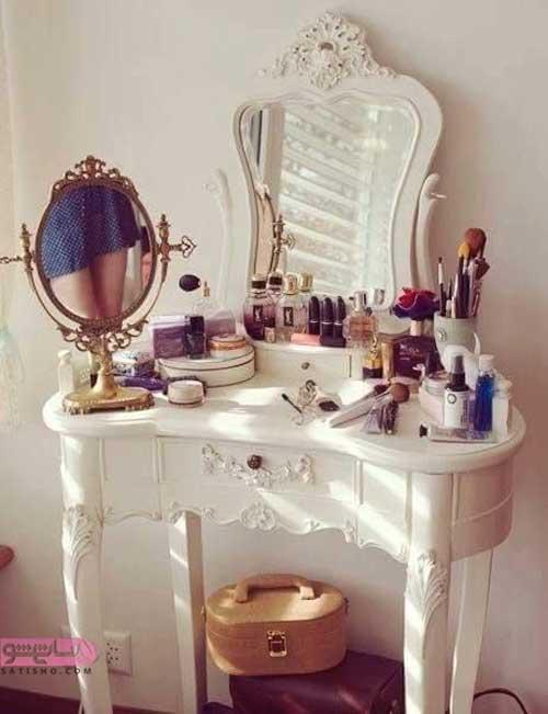 مدل های میز آرایش لاکچری سلطنتی