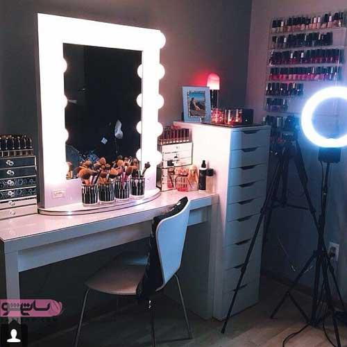 مدل میز آرایش جدید مخصوصان عروس 2019