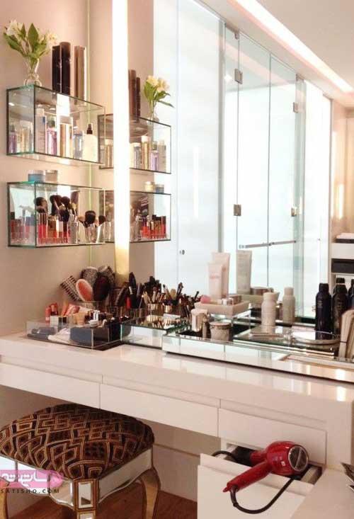 مدل میز آرایش عروس 2019