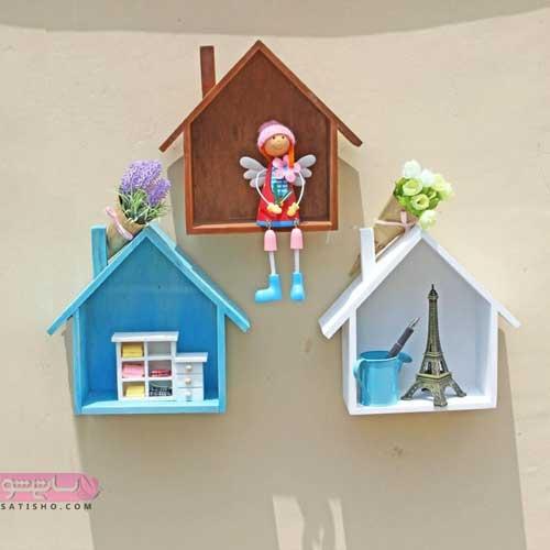 مدل باکس دیواری برای اتاق کودک