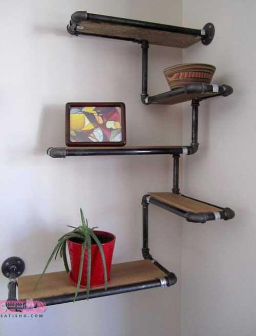 مدل ویترین دیواری منزل در طرح های جدید