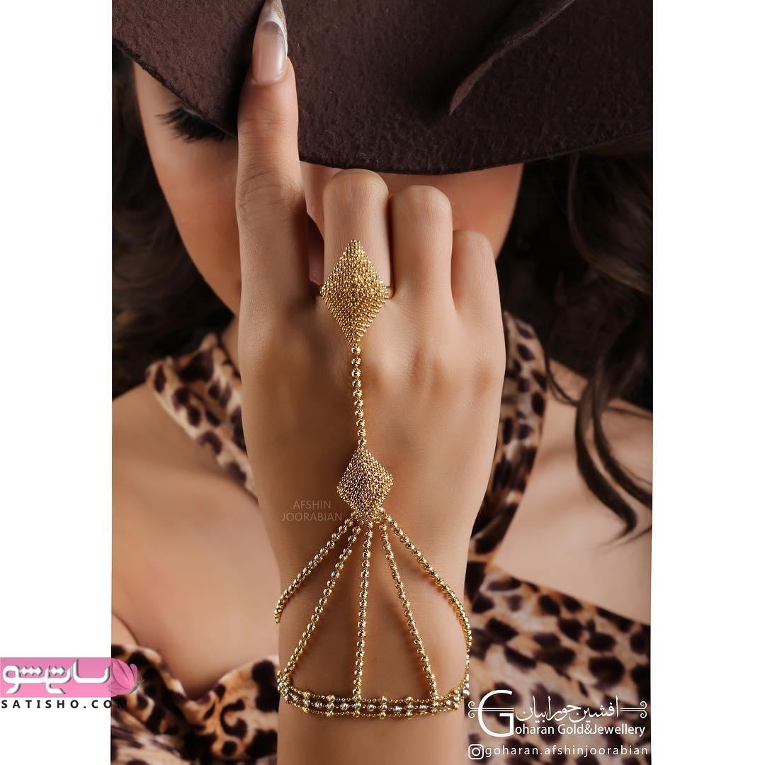 قیمت دستبند تمیمه طلا با طرح ایرانی و اروپایی