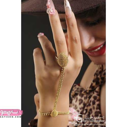 مدل دستبند انگشتری هندی و عربی