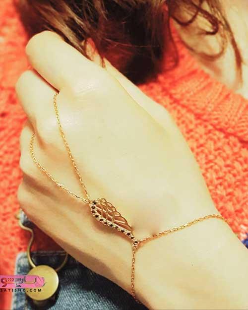 مدل تمیمه دست طلا 98