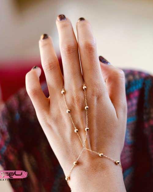 مدل های دست بند ساده جنس طلا