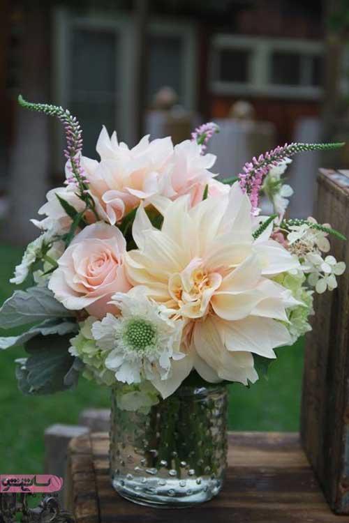 مدل تزیین گل های رز با شکل های جدید