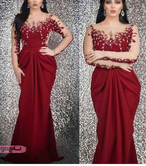 مدل لباس مجلسی بلند زنانه 2019