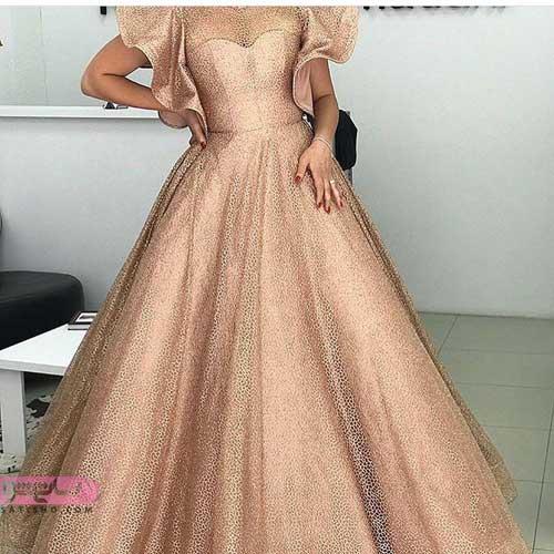 عکسهای جدید و خاص از انواع مدل لباس مجلسی بلند گیپور