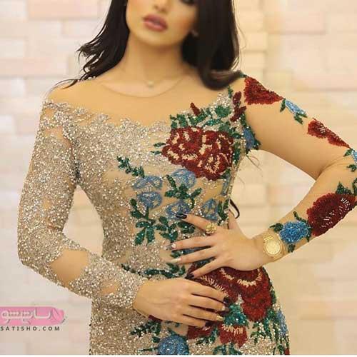 نواع مدل لباس مجلسی زنانه شیک مناسب برای عقد و عروسی