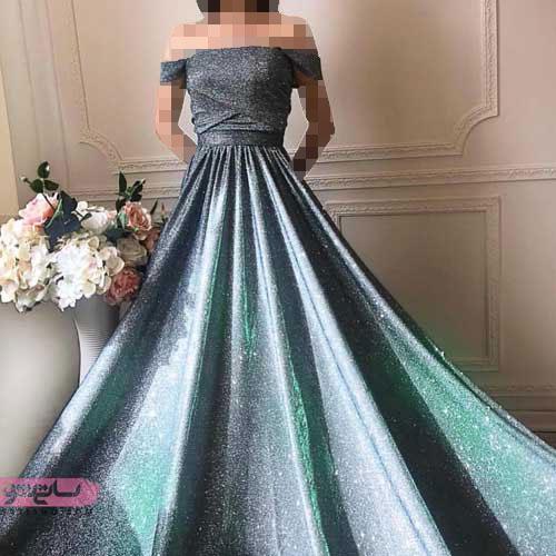 جذاب ترین مدل لباس مجلسی زنانه و دخترانه شیک و دنباله دار