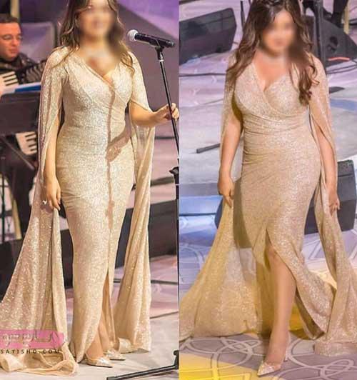 البومی جدید لباس مجلسی خیلی خاص پوشیده زنانه