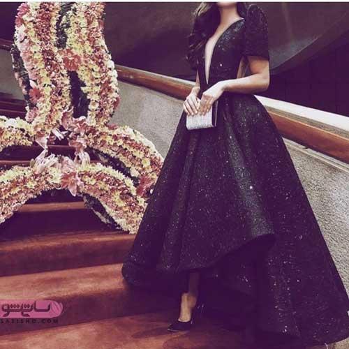 مدل لباس مجلسی خیلی خاص زنانه لاکچری