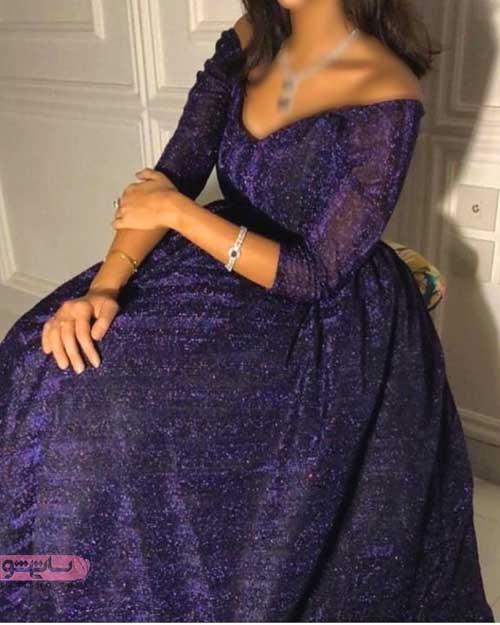 انواع مدلهای لباس مجلسی زنانه و شیک 2019 با گیپور