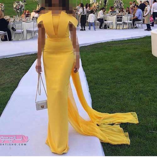 شیک ترین مدل لباس مجلسی دخترانه و زنانه شیک بالاتنه گیپور 2019
