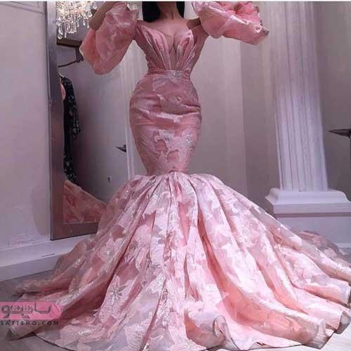 لباس مجلسی زنانه مدل ماهی