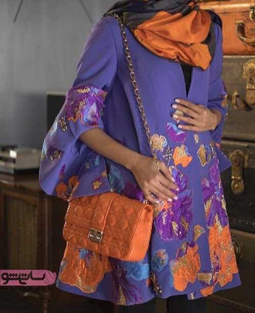 شیک ترین مدل مانتو دخترانه اسپرت با پارچه طرح دار