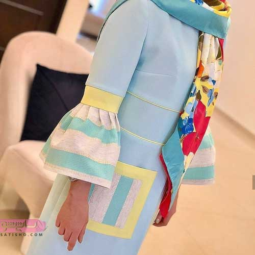 گالری از انواع مدل مانتو تابستانی اسپرت جدید