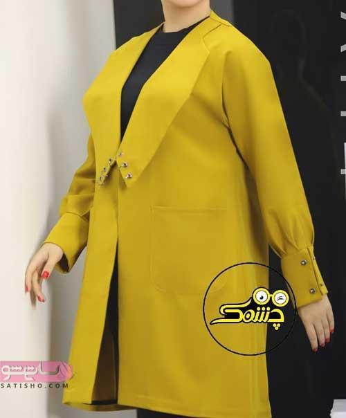 مدل مانتو جدید جلوباز دخترانه