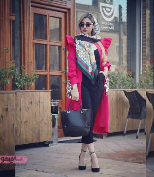 مدل مانتو بلند ترکیه 2019