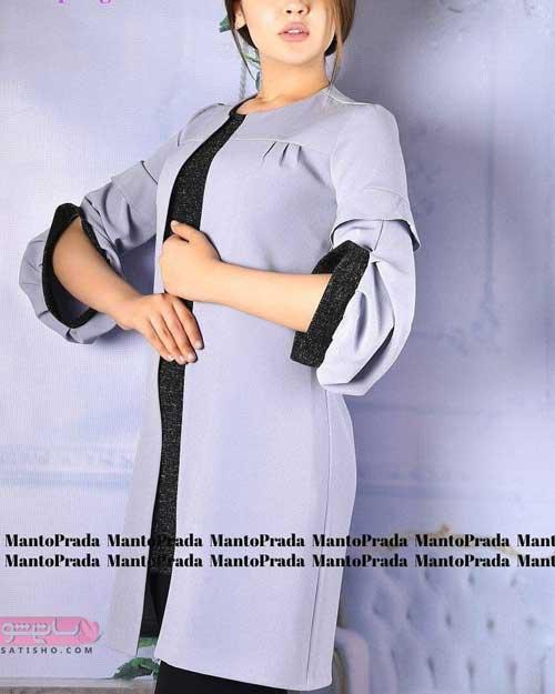 مدل مانتو دخترانه 2019 جدید