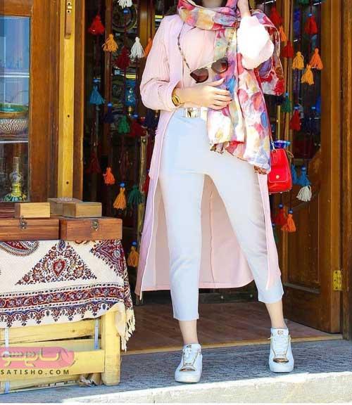 مدل مانتو تابستانی اسپرت دخترانه جدید