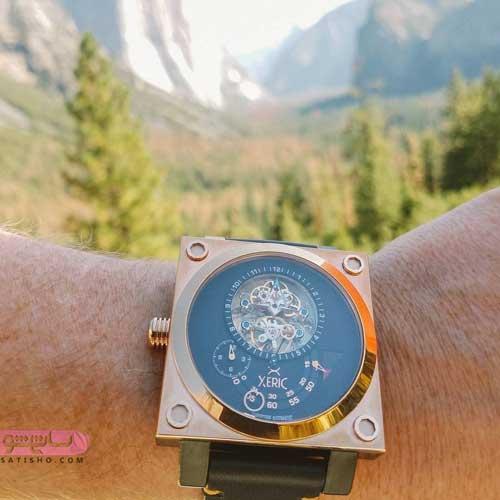 ساعت مردانه با طراحی مخصوص
