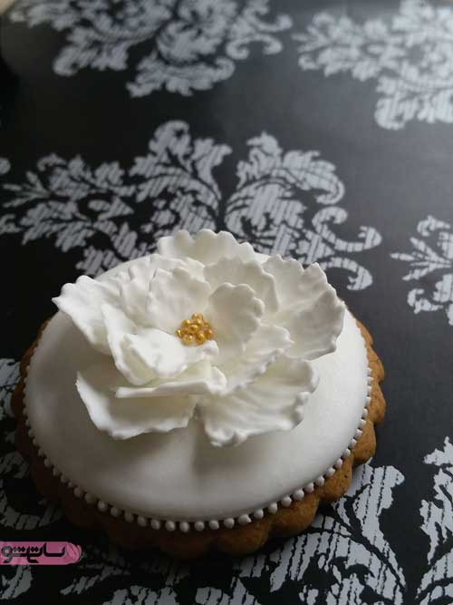 زیباترین تزیین کیک عاشقانه دونفره