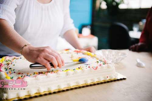 اموزش تزیین های جدید کیک تولد با اسمارتیز
