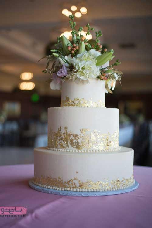 کیک دو طبقه و چند طبقه ساده