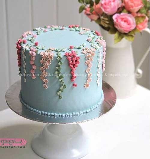 انواع تزیین کیک خانگی خیلی ساده