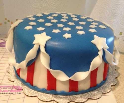 جدیدتین مدلهای تزیین کیک با ماسوره